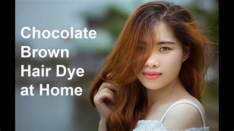 Chocolate Brown Hair Dye A Hair Color Chart To Get