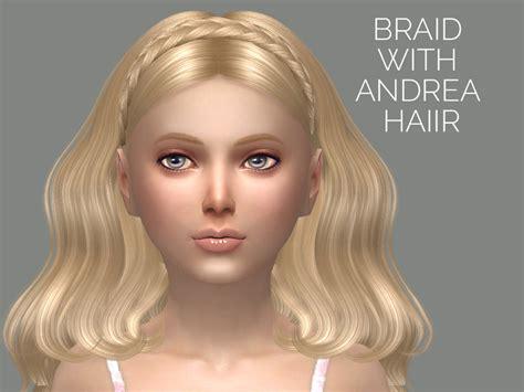 sims  tsr kids hair sintikliasims sintiklia hair lida child
