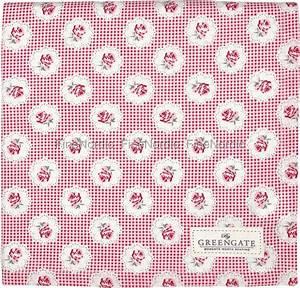 Tischdecke 350 X 150 : greengate tischdecke tablecloth tammie red 150 x 150 cm ~ Watch28wear.com Haus und Dekorationen