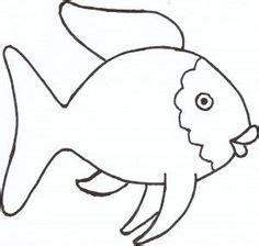 rainbow fish template ideas  pinterest