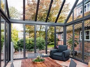 Falttüren Für Wintergarten : anbau aus glas zuhause wohnen ~ Sanjose-hotels-ca.com Haus und Dekorationen