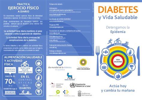 folletos de diabetes tipo