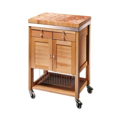 kitchen storage trolleys eddingtons eddingtons pewsey beech wooden kitchen 3194