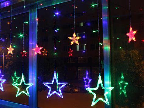 outdoor christmas strobe lights 2m stars led string fairy light christmas xmas party