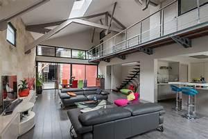Renovation Hangar En Habitation : loft dans un hangar ~ Nature-et-papiers.com Idées de Décoration