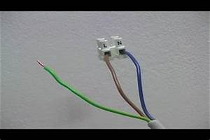 Lampe Anschließen 2 Kabel Ohne Farbe : l stromkabel bedeutung ~ Orissabook.com Haus und Dekorationen