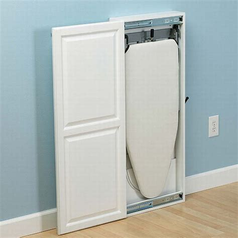 Iron Board Cupboard by The Convenient Stow Away Cabinet Ironing Board