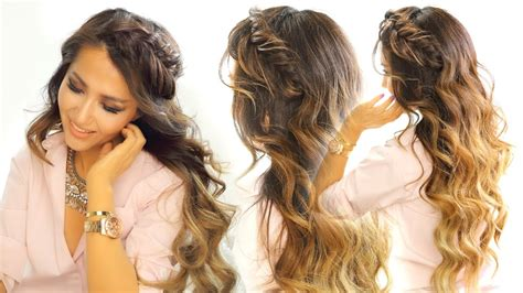 2 cute headband braid hairstyles quick easy hairstyle
