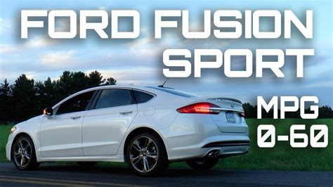 Ford Fusion 0 60 2017 ford fusion sport 0 60 mph review highway mpg road