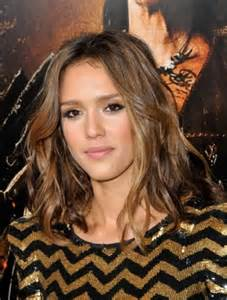 Jessica Alba Honey Brown Hair Color