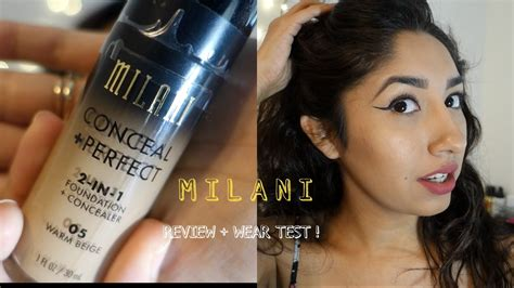 New Milani Conceal And Perfect 2 In 1 Foundation
