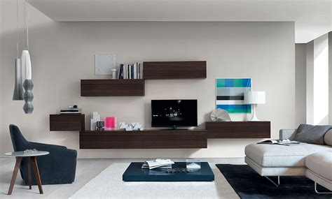 Cheap Living Room Wall Units by Floating Wall Units Bring Visual Lightness To The Small