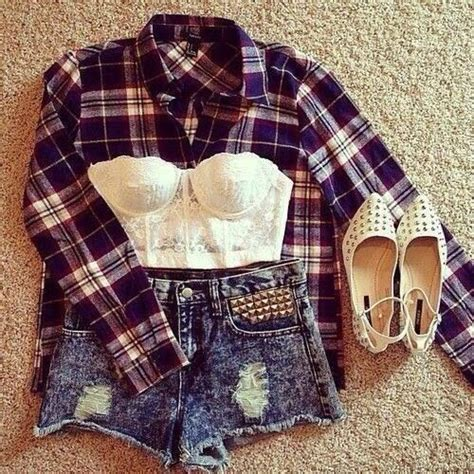 Pin By Nathalie On Outfit Cute Flannel Outfits