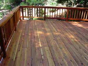 Clear Decking Stain by Redwood Deck