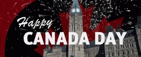 Happy Canada Day Canadaday Fireworks Gifs Say More