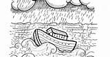 Flood sketch template