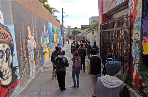 5 artist led clarion alley street art mural tours