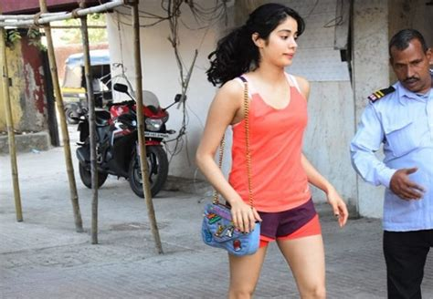 jhanvi kapoors hot    gym pictures gallery