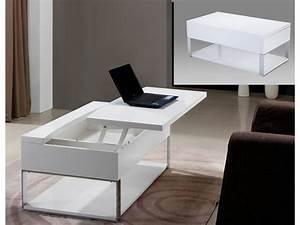 Table Basse Relevable Design Prix Rduit Comparatif