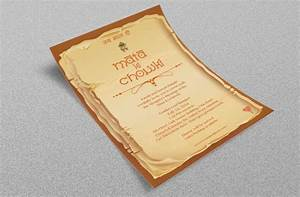 18 best images about card on pinterest behance With wedding invitation for mata ki chowki