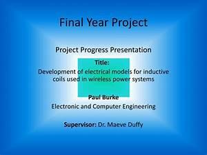 PPT - Final Year Project Project Progress Presentation ...