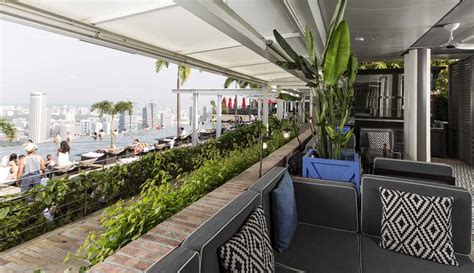 cuisine of hong kong spago restaurant and terrace lounge rooftop at marina bay sands singapore bars