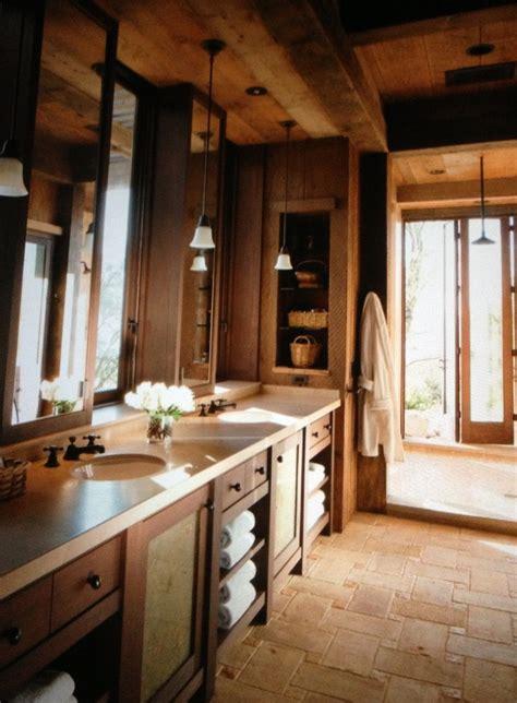 Elegant Yet Rustic Master Bathroom  For The Home Pinterest