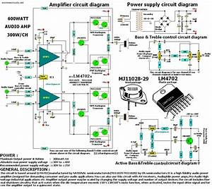 600w Audio Amplifier