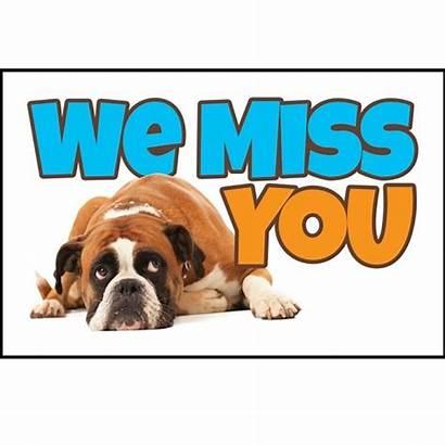 Miss Postcards Church Dog Boxer Christian Absentee