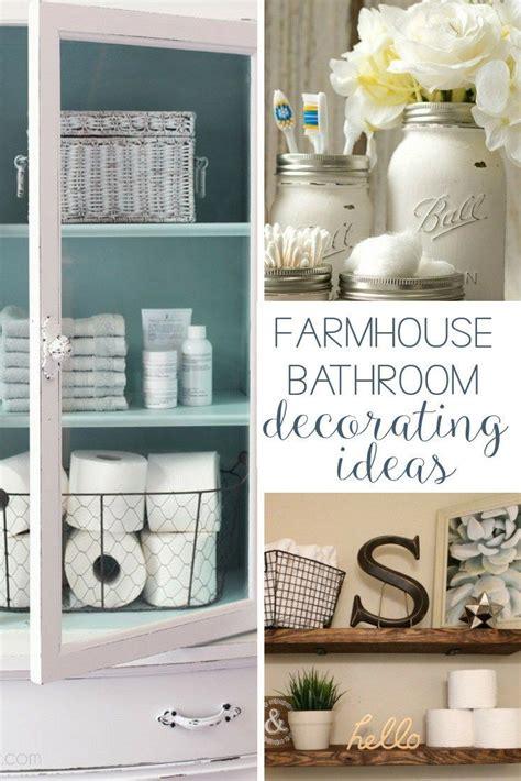bathroom decorating ideas diy 19 amazing diy farmhouse bathroom decorating ideas home