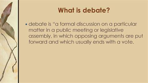 debating prezentatsiya onlayn