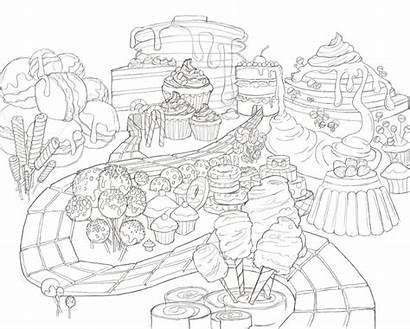 Candy Land Sketch Idea Emmett Jessica Week