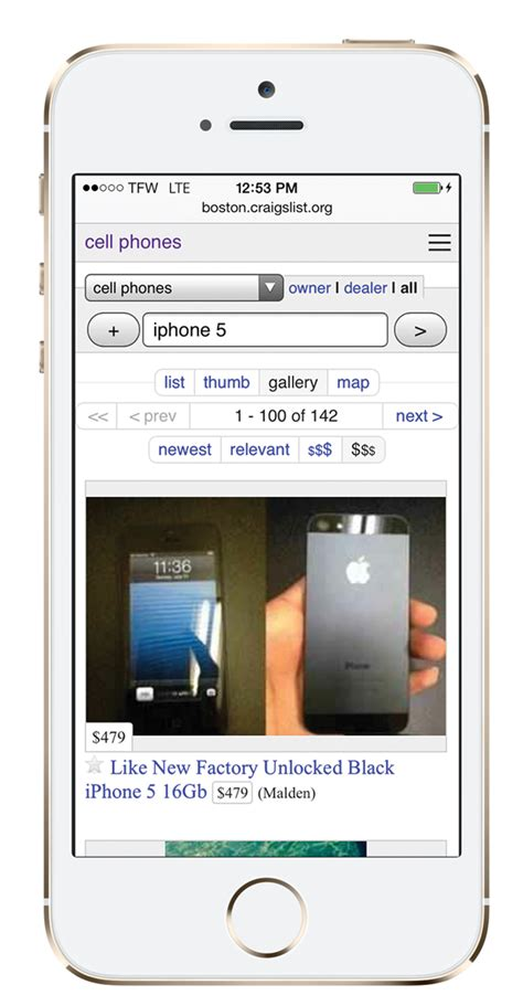 phones for on craigslist buying an iphone 5 for on craigslist smartphonematters