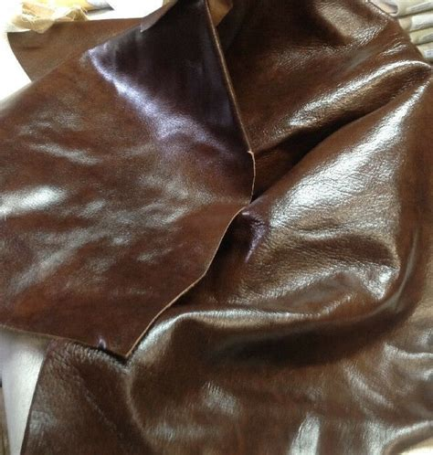 Cowhide For Upholstery by Spl09 Leather Cow Hide Cowhide Upholstery Craft Fabric Oak