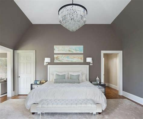 chambre taupe et blanche couleur pour chambre à coucher 111 photos pour s 39 inspirer