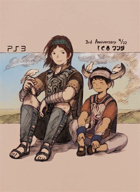 Ico And Shadow Of The Colossus Ico And Wander Shadow Of