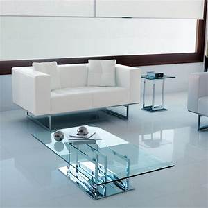 Tables Basses Haut De Gamme : excelsior table basse en verre et m tal idd ~ Dode.kayakingforconservation.com Idées de Décoration