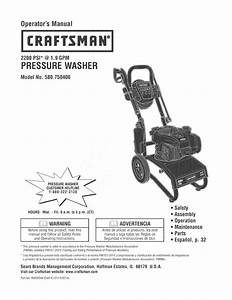 Briggs  U0026 Stratton 020563 00 User Manual Power Washer
