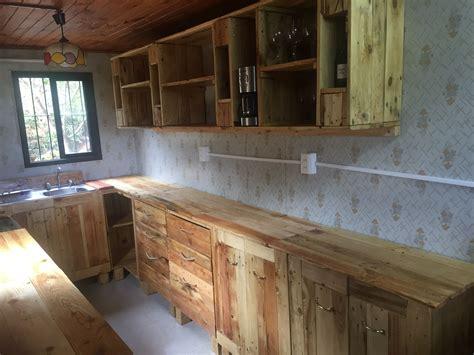 muebles de cocina hechos  palets muebles hechos