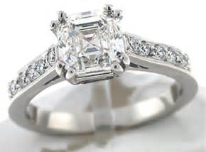 wedding ring cuts asscher cut engagement rings are the thing in bling today wedding engagement noise