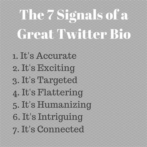 key ingredients   powerful twitter bio