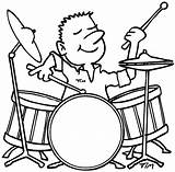 Drum Coloring Pages Playing Drummer Boy Drums Drawing Line Enjoy Play Sticks Dog Enjoys Pdf Chased Getdrawings Template sketch template