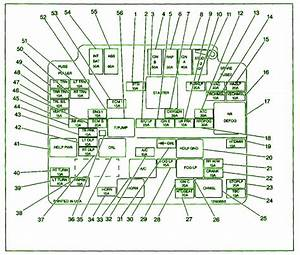98 Chevrolet S10 Fuse Box Diagram