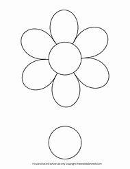 Printable Flower Templates For Kids