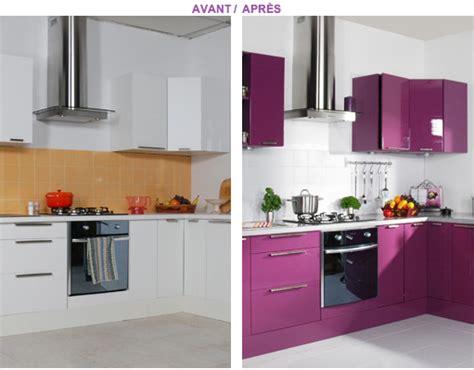 couleur meuble cuisine peindre meubles cuisine avec resinence couleur prune