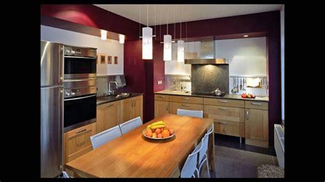 cuisine amenagee equipee style idee deco youtube