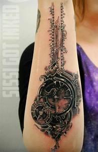 Awesome Steampunk tattoo! | steampunk | Pinterest | Steam ...