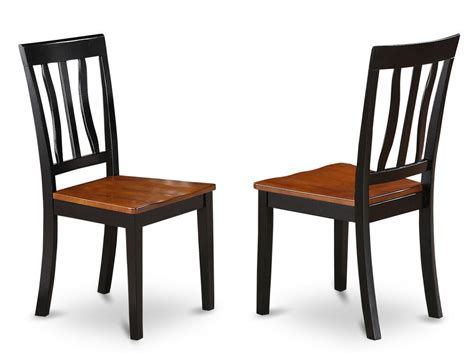 set   antique dinette kitchen dining chairs  plain