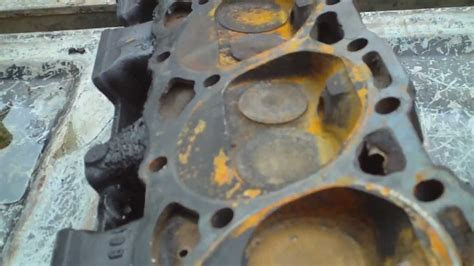 set  cylinder heads cracked