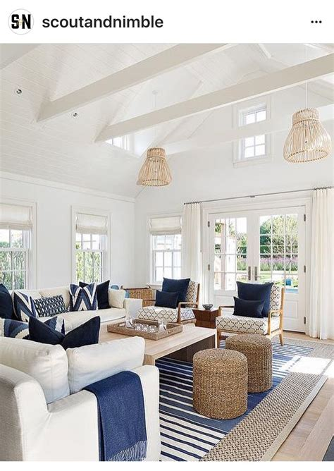 nautical home decor light and bright coastal interior with a relaxed feel